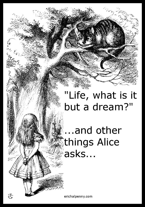 Alice in Wonderland: Philosophy of existence